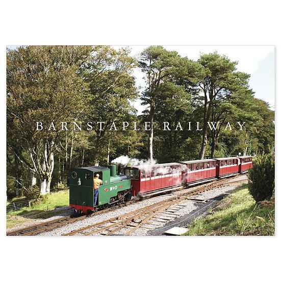 Barnstaple Railway - Sold in pack (100 postcards)