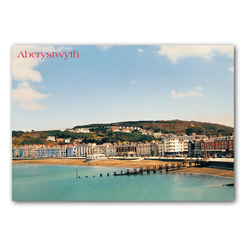 Aberystwyth Promenade - Sold in pack (100 postcards)