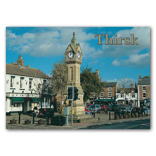 Thirsk Clock Tower - Sold in pack (100 postcards)