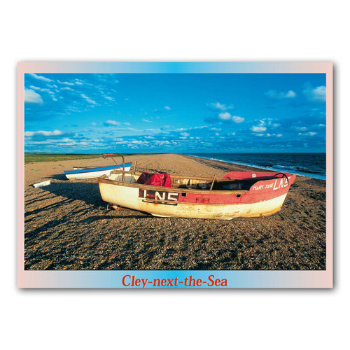 Cley-Next-The-Sea Norfolk - Sold in pack (100 postcards)