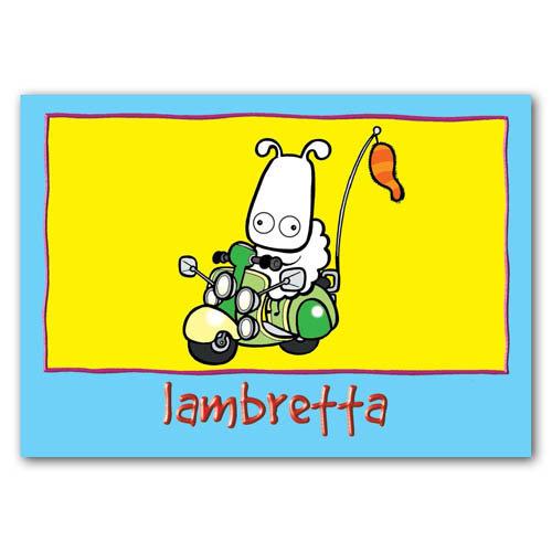 Baa - Lambretta - Sold in pack (100 postcards)
