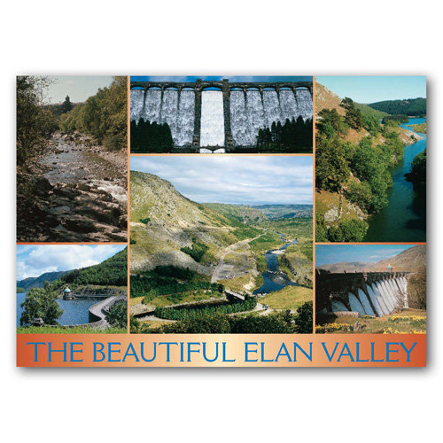 Elan Valley Beautiful The - Sold in pack (100 postcards)