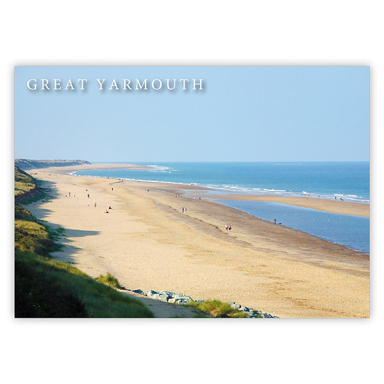 Great Yarmouth, Scratby - Sold in pack (100 postcards)