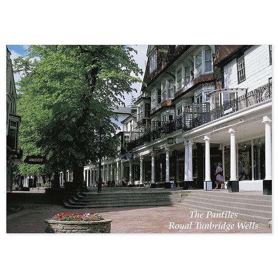 Tunbridge Wells The Pantiles - Sold in pack (100 postcards)