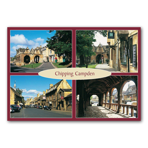 Chipping Campden Comp - Sold in pack (100 postcards)