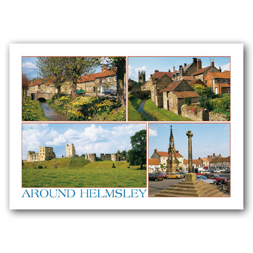 Helmsley 4 View Comp - Sold in pack (100 postcards)
