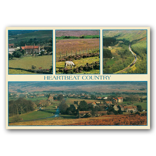 Yorkshire Heartbeat Country - Sold in pack (100 postcards)