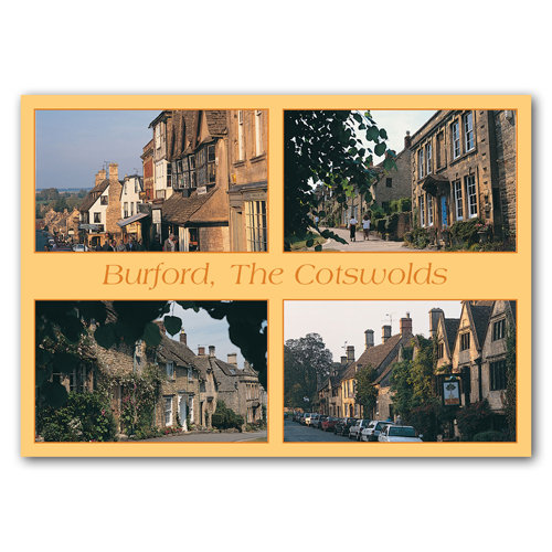 Burford The Cotswolds Comp - Sold in pack (100 postcards)