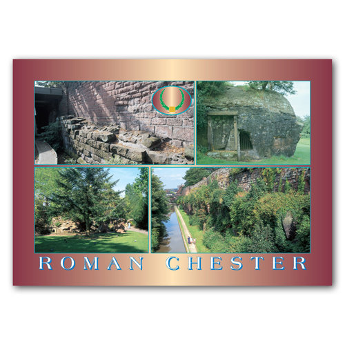 Chester Roman - Sold in pack (100 postcards)