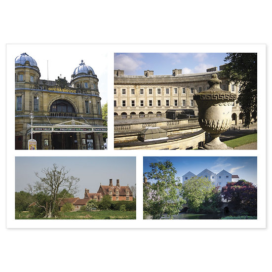 Buxton Compilation - Sold in pack (100 postcards)