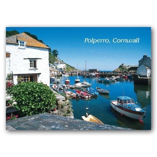 Polperro - Sold in pack (100 postcards)