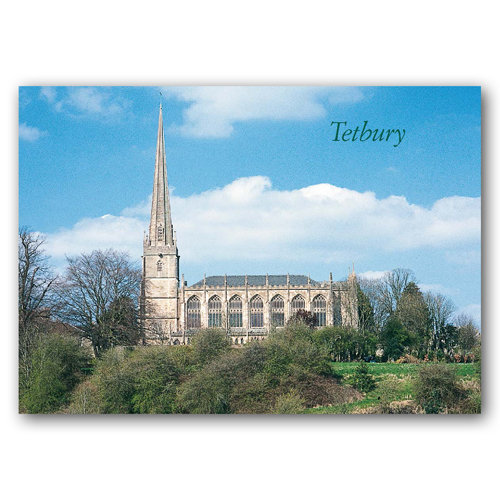 Tetbury Church - Sold in pack (100 postcards)