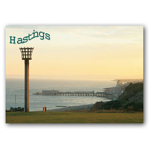Hastings View From Easthill - Sold in pack (100 postcards)