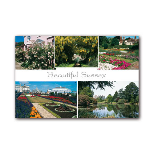 Sussex Beautiful - Sold in pack (100 postcards)