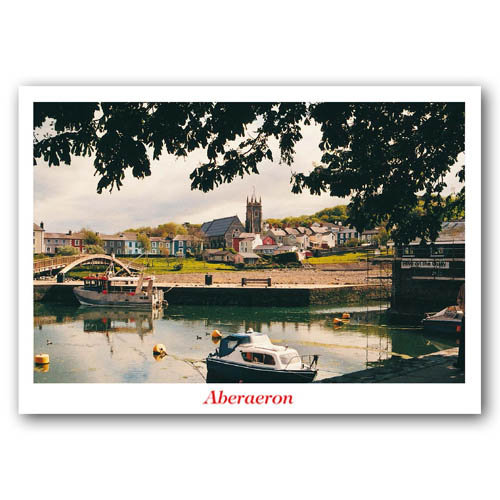 Aberystwyth Inner Harbour - Sold in pack (100 postcards)