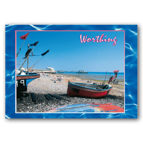 Worthing - Sold in pack (100 postcards)