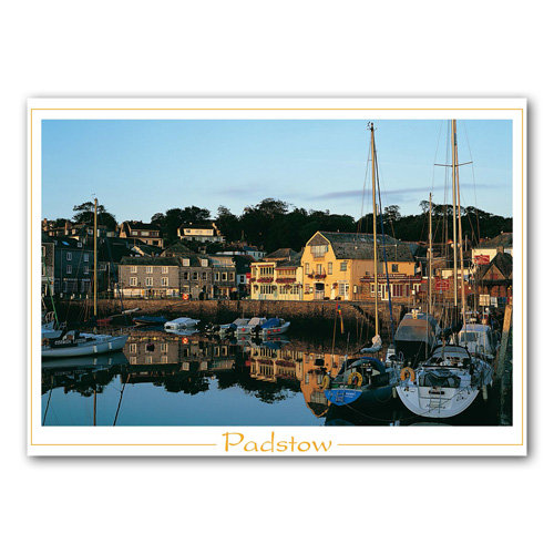 Padstow - Cornwall - Sold in pack (100 postcards)