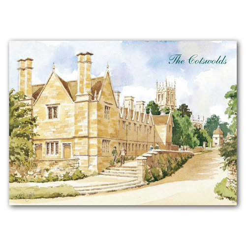 Chipping Campden Watercolour - Sold in pack (100 postcards)