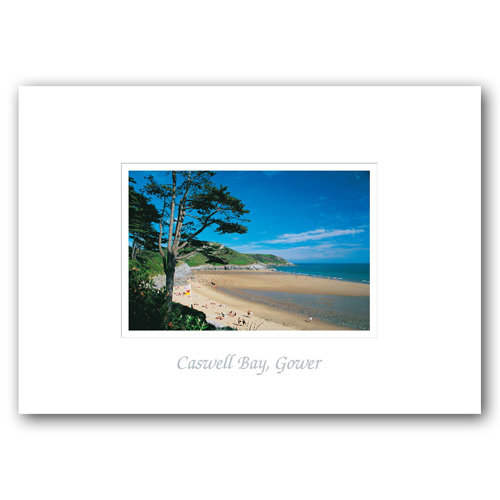 Gower Caswell Bay - Sold in pack (100 postcards)