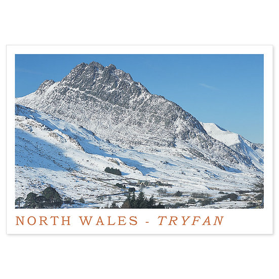 Tryfan North Wales Naturally - Sold in pack (100 postcards)