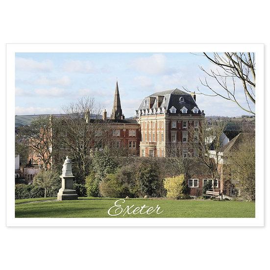 Exeter Northenhay Gardens - Sold in pack (100 postcards)