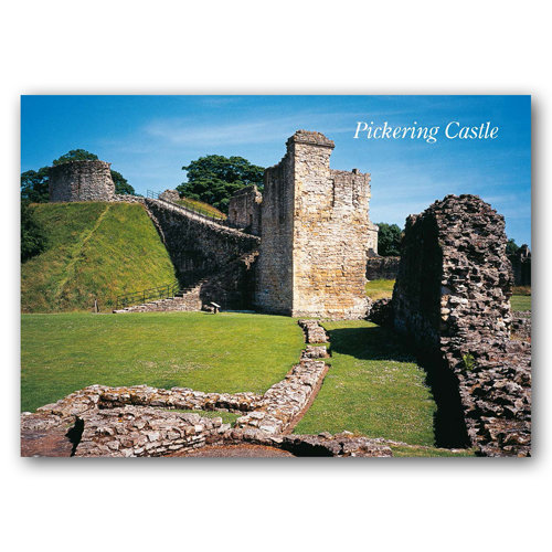 Pickering Castle - Sold in pack (100 postcards)