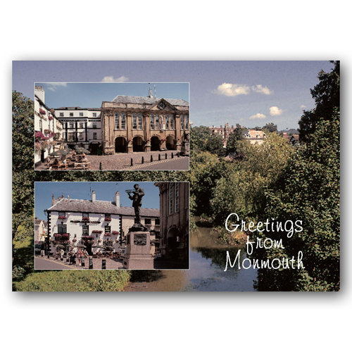 Monmouth Greetings From - Sold in pack (100 postcards)