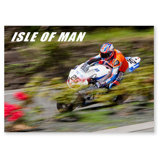 Isle of Man : TT Practice - Sold in pack (100 postcards)