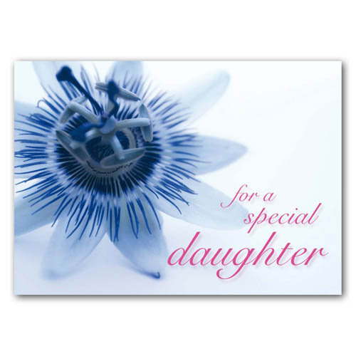 Statement - For A Special Daughter - Sold in pack (100 postcards)