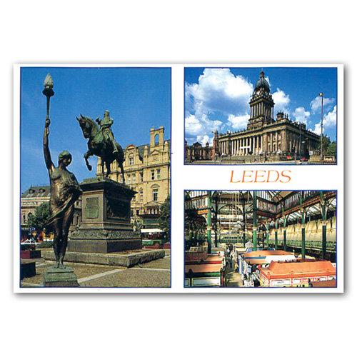 Leeds - Sold in pack (100 postcards)