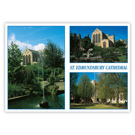 Bury St Edmunds - Sold in pack (100 postcards)