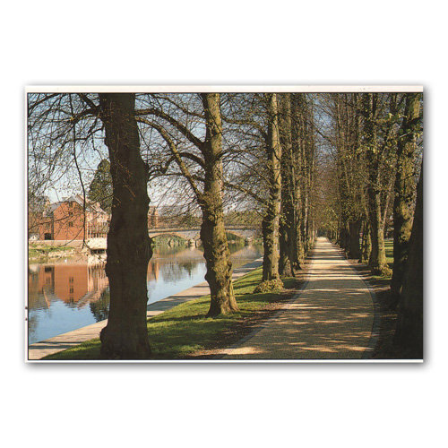 Evesham Worcestershire - Sold in pack (100 postcards)