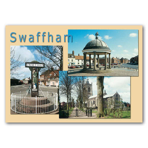 Swaffham Norfolk - Sold in pack (100 postcards)