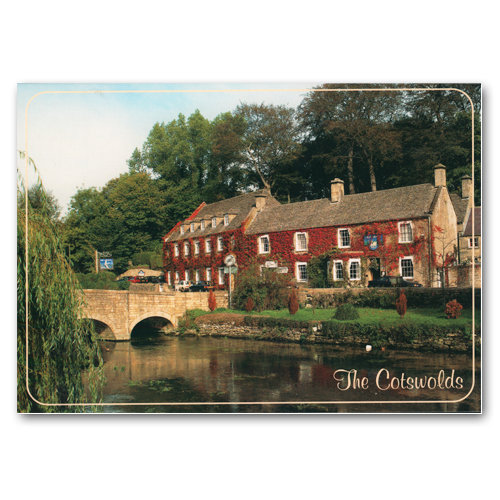 Bibury - Sold in pack (100 postcards)