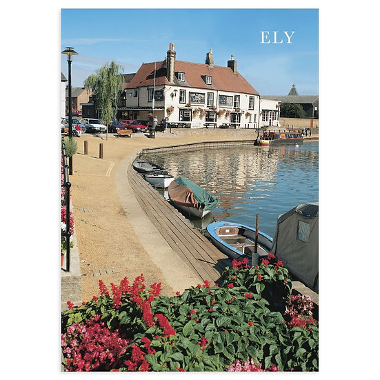 Ely Boats - Sold in pack (100 postcards)
