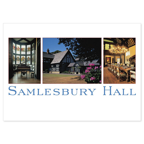 Samlesbury Hall Lancashire - Sold in pack (100 postcards)