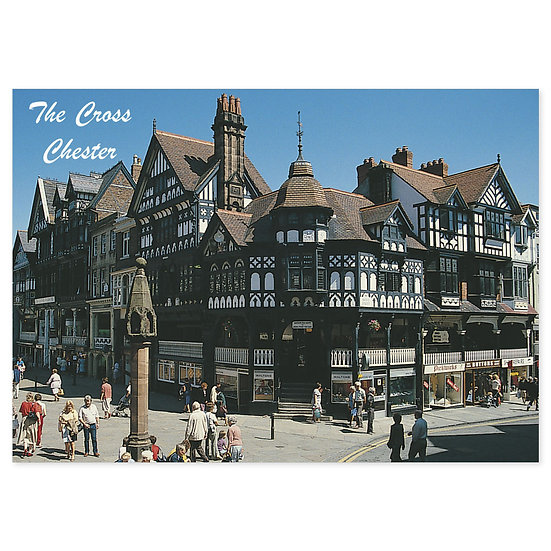 Chester The Cross - Sold in pack (100 postcards)