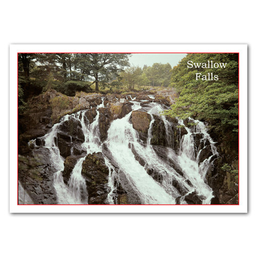 Betws-Y-Coed Swallow Falls - Sold in pack (100 postcards)