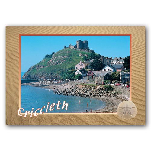 Criccieth - Sold in pack (100 postcards)