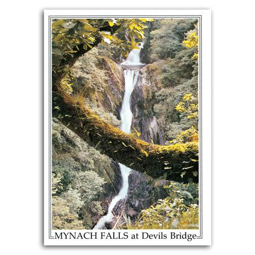 Aberystwyth Devils Bridge Fall - Sold in pack (100 postcards)