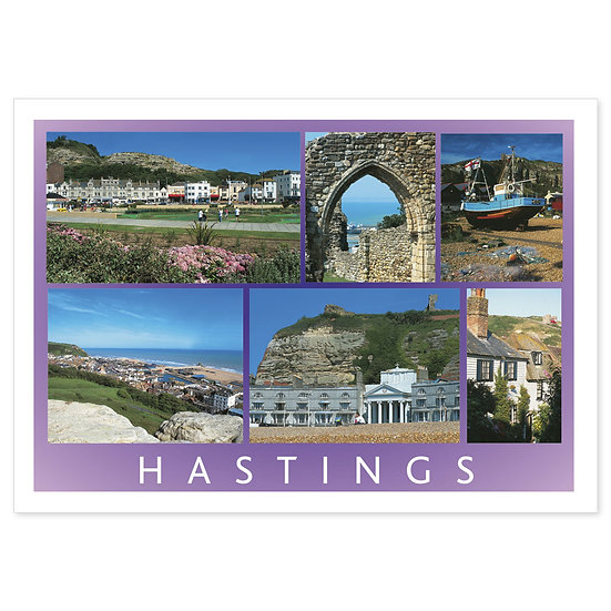 Hastings Compilation - Sold in pack (100 postcards)