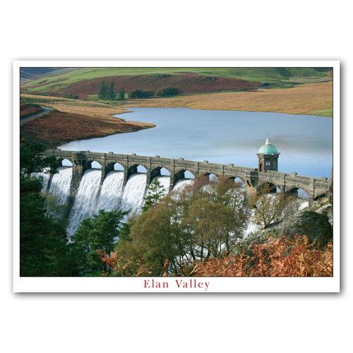 Craig Goch Dam - Sold in pack (100 postcards)