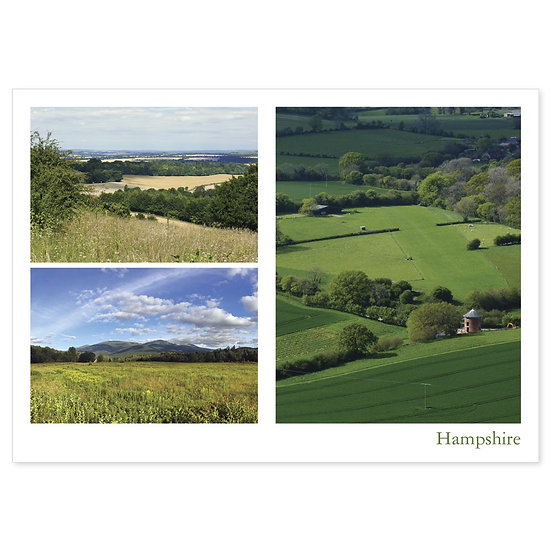 Hampshire Countryside Comp - Sold in pack (100 postcards)