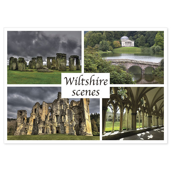 Wiltshire Comp - Sold in pack (100 postcards)