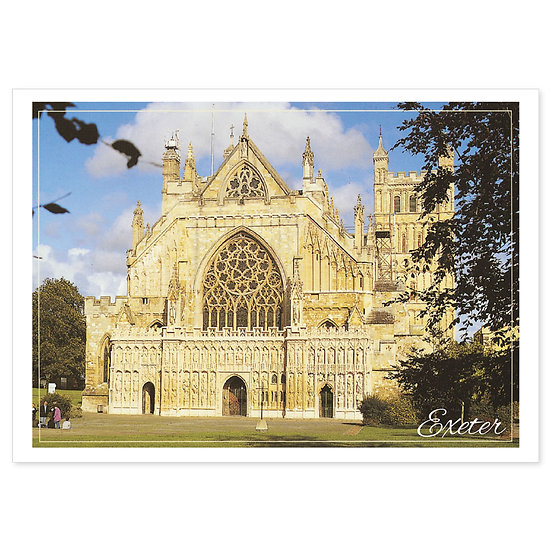 Exeter Cathedral - Sold in pack (100 postcards)