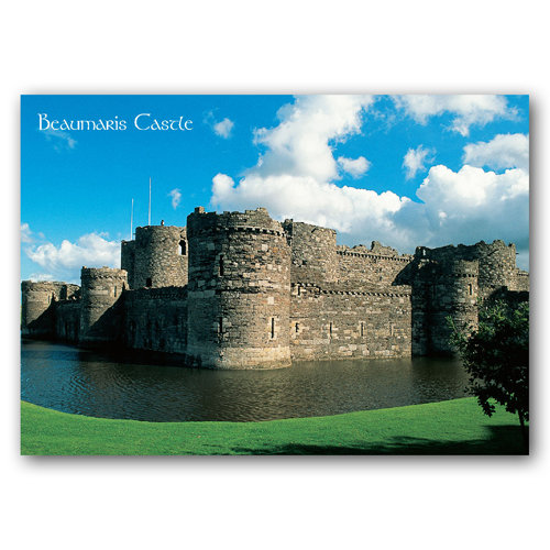Beaumaris Castle - Sold in pack (100 postcards)