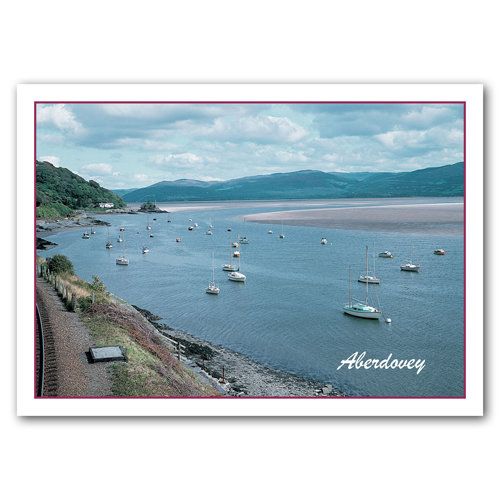 Aberdovey Estuary - Sold in pack (100 postcards)
