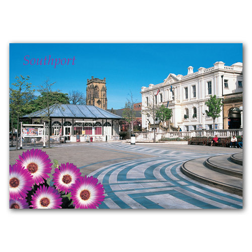 Southport Town Hall - Sold in pack (100 postcards)