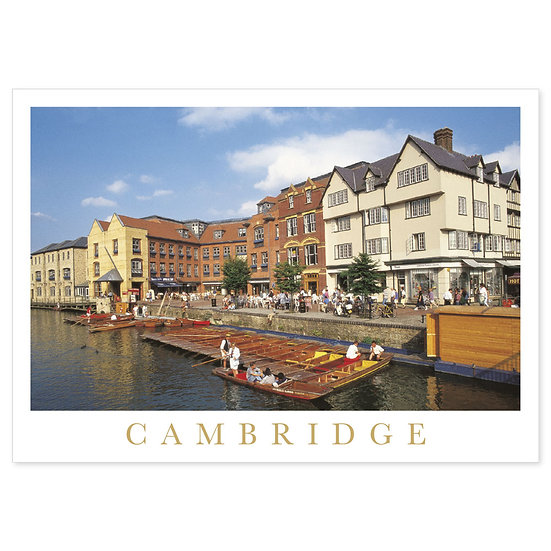 Cambridge Postcard, UK Postcards