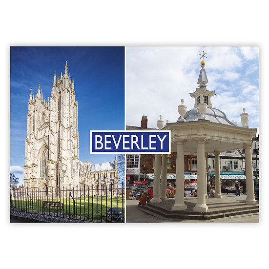 Beverley 2 View Comp - Sold in pack (100 postcards)
